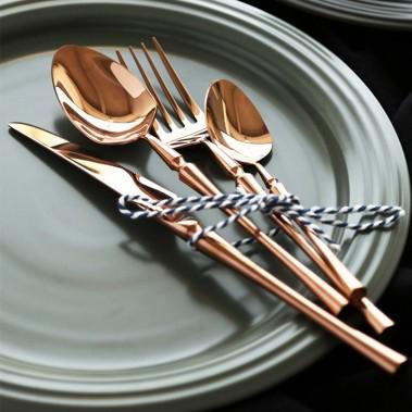 思锦四件套酒店餐具,不锈钢餐具套装